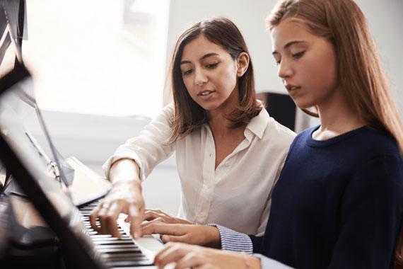 Apprendre à jouer au piano